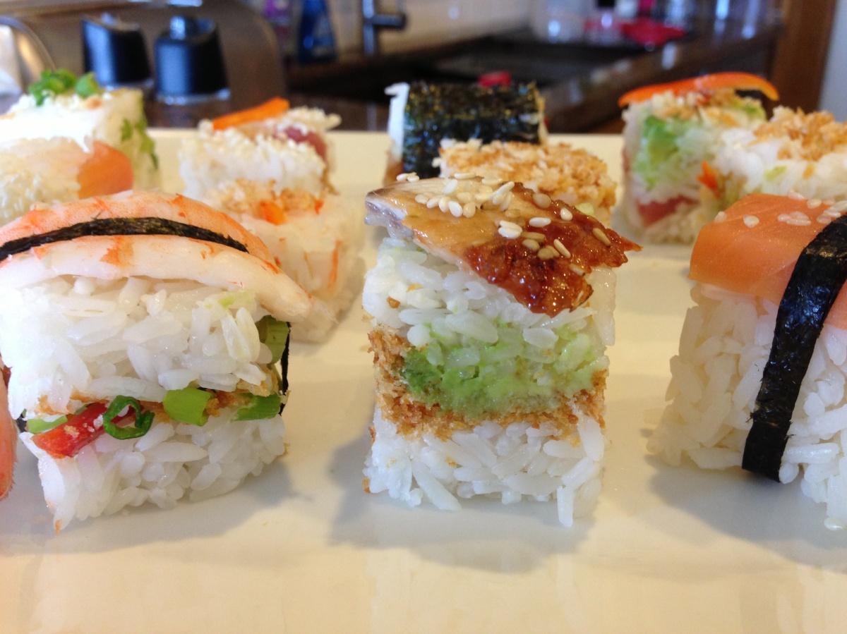 Rice Cube Sushi