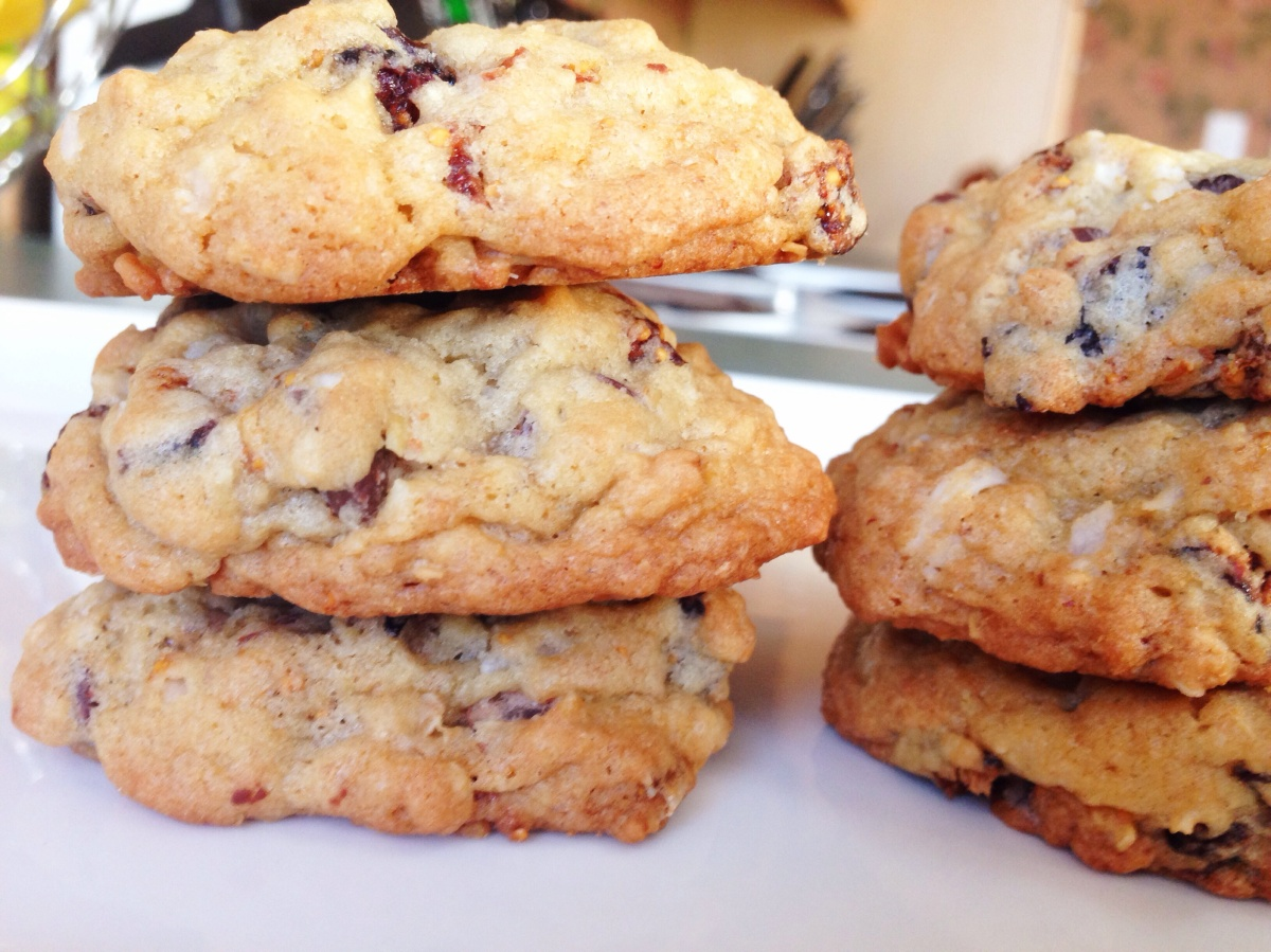Fig Oatmeal Cookies