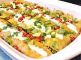Sweet Potato Enchiladas