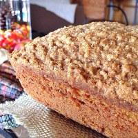 Pumpkin Loaf with Walnuts & Raisins